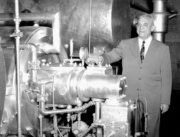 اولین کولر گازی