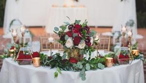 گل ارایی مجلس عقد - گل ارای عروسی
